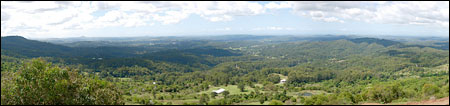 Lookout, Sunshine Coast hinterland