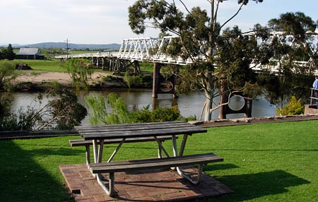 The Hunter River at Morpeth